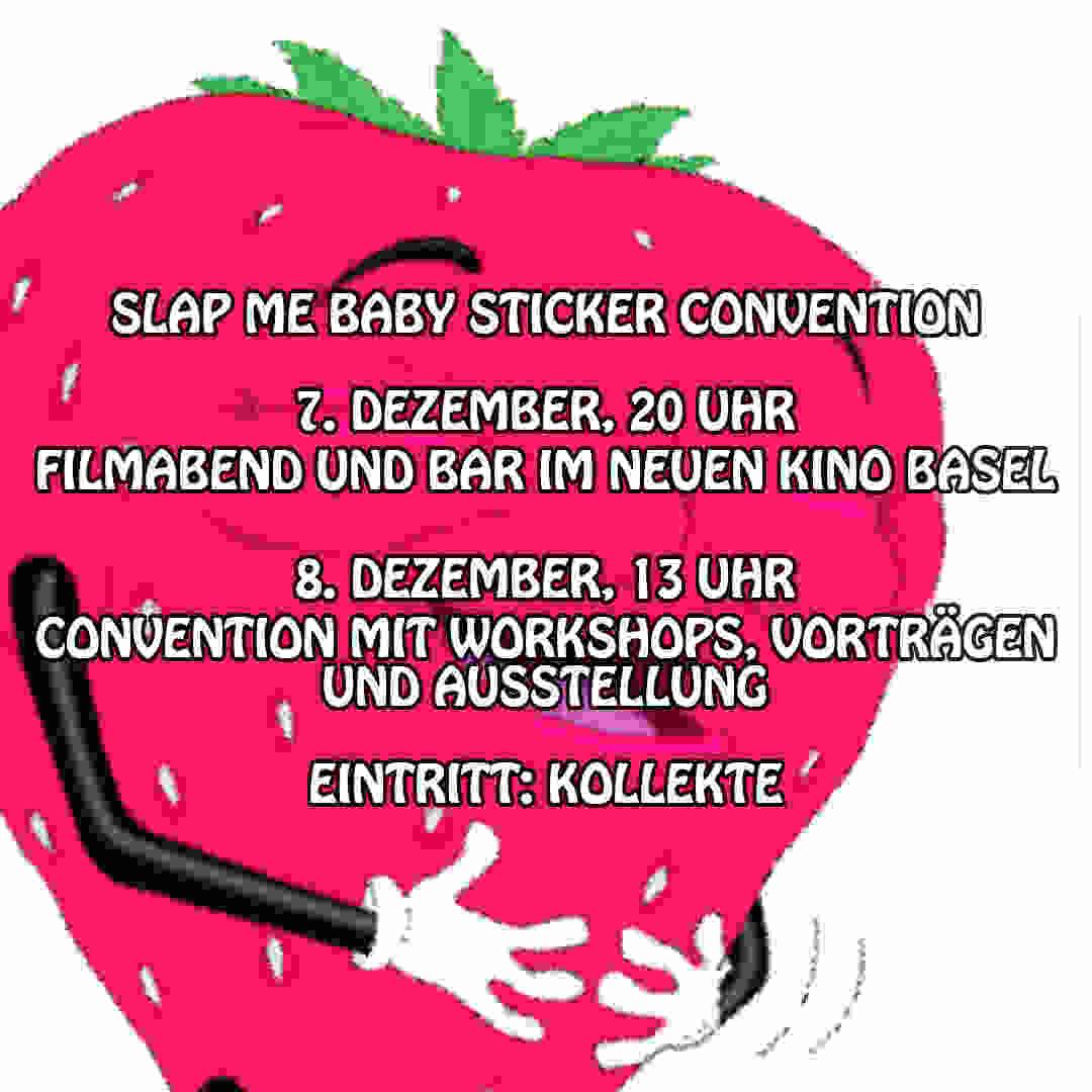 Slap Me Baby Sticker Convention